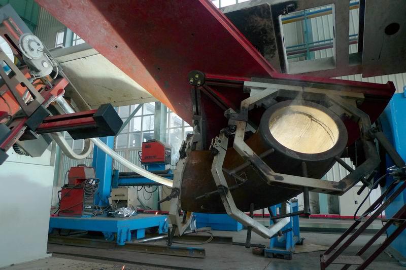 调整大小 90°弯管堆焊