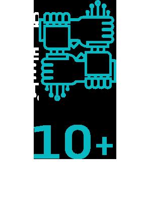 10余项国家专利技术