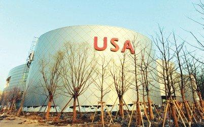 上海世博会美国馆--风管隔音