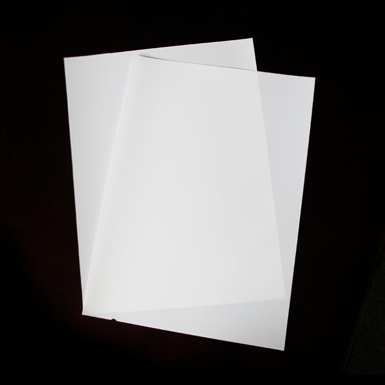 激光白基胶片