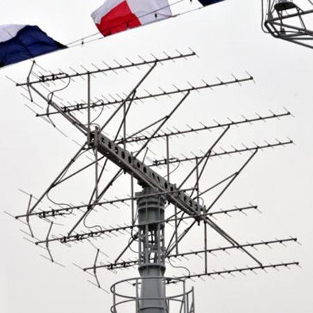 晶沛以太網滑環在雷達上的應用
