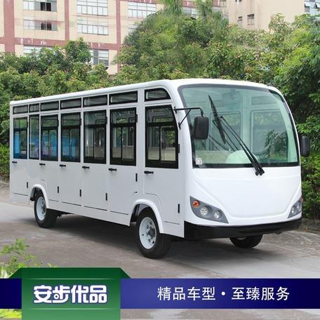 新款23座封闭式电动观光车(空调)