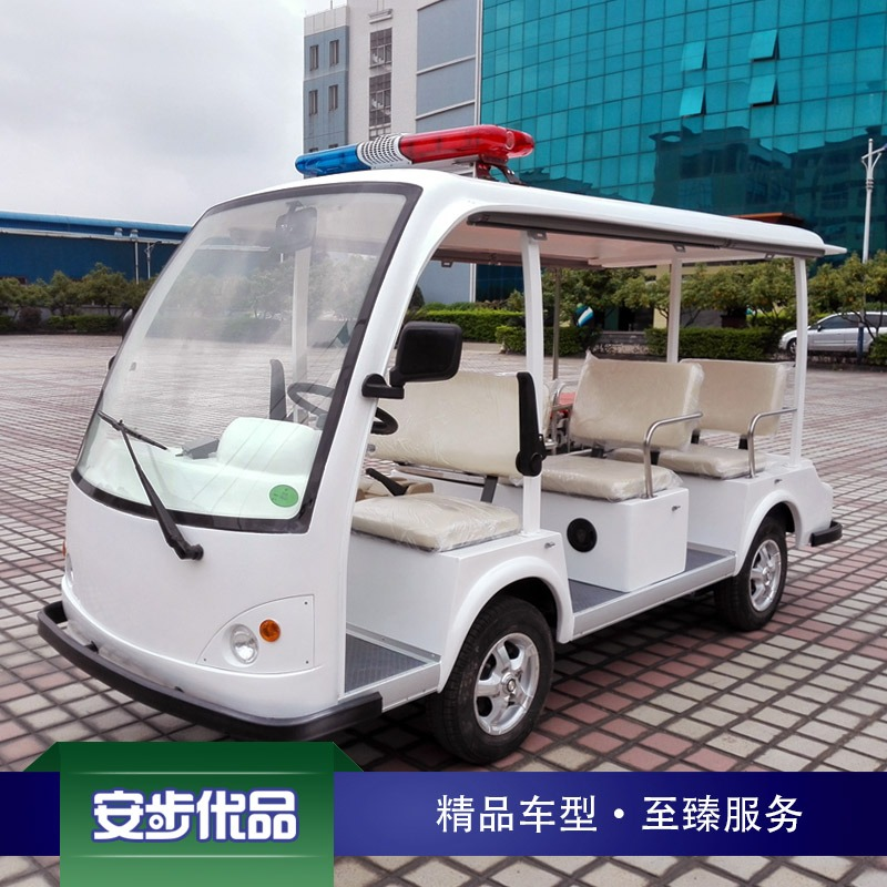 专业型4座+1床电动救伤车