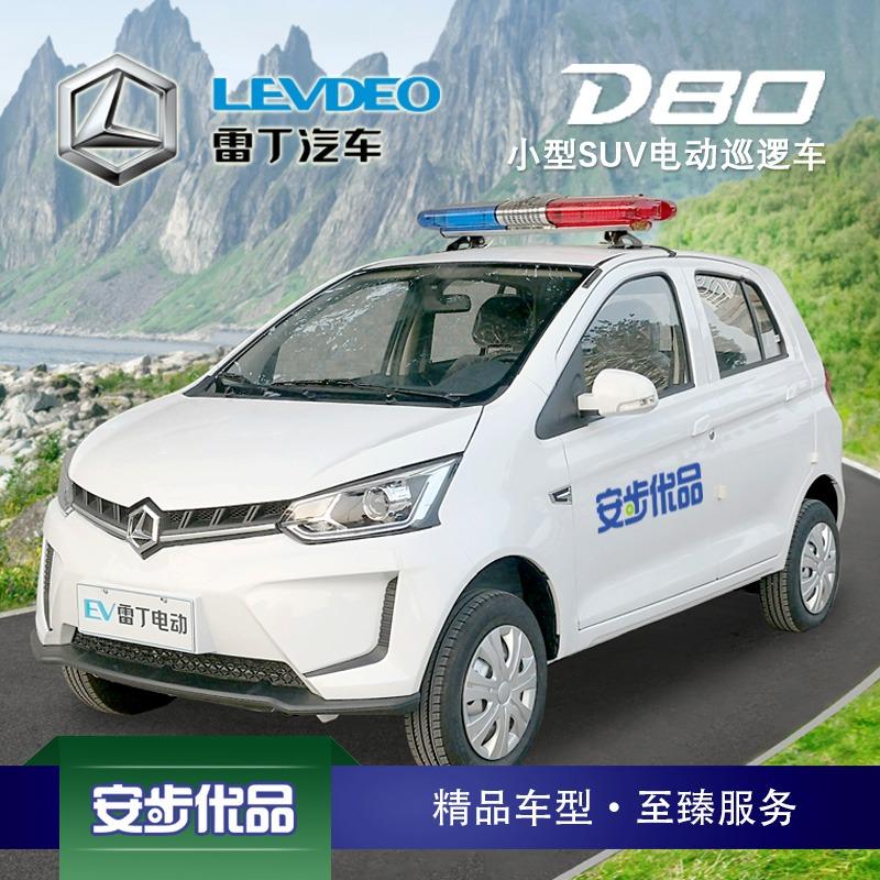 雷丁D80四轮电动封闭电动巡逻车(空调)