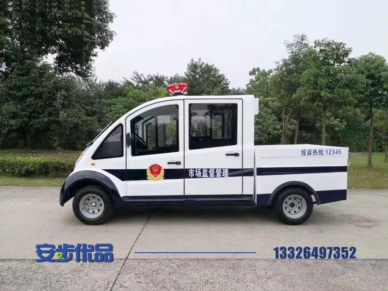 某街道定制五座电动皮卡巡逻车