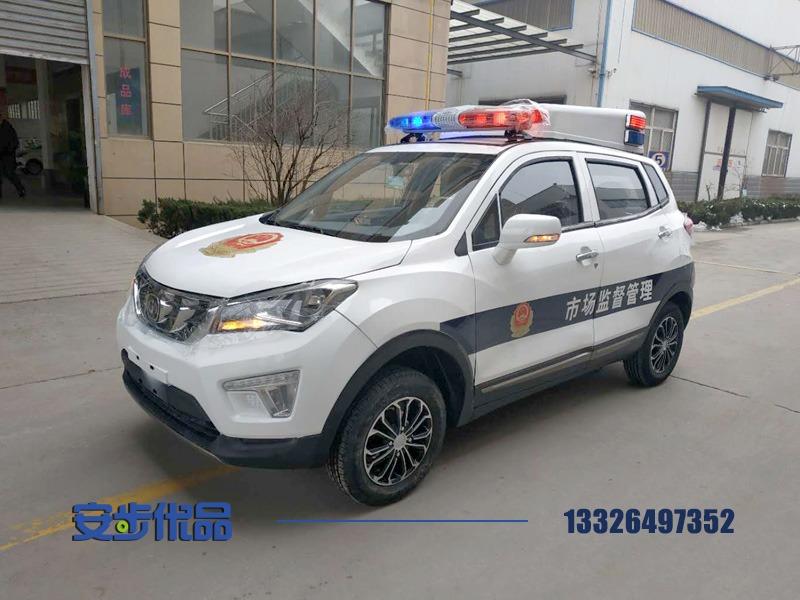 某单位定制五座SUV电动巡逻车