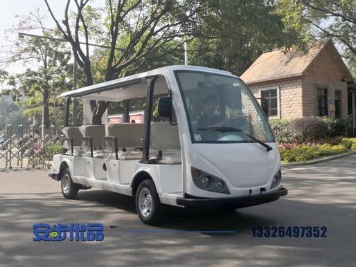 广州某公园定制的11座豪华电动观光车