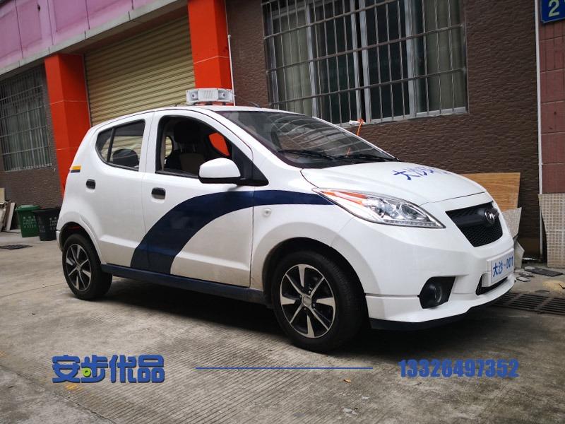 广州某街道定制五座带空调封闭巡逻车