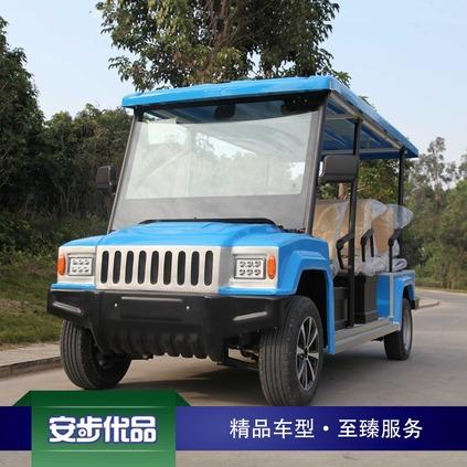 悍马款八座电动观光车