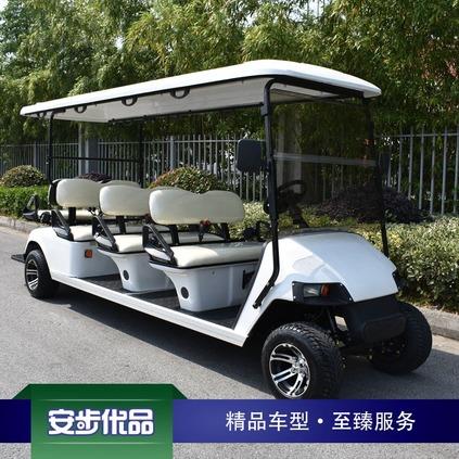 新款八座电动会所车|高尔夫球车