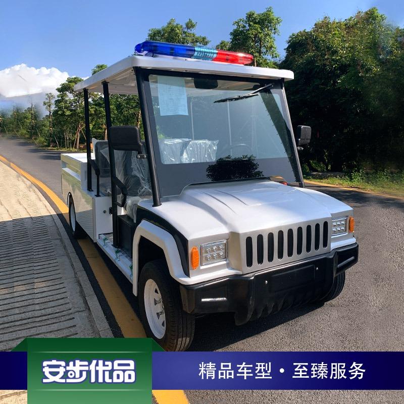 五座悍马款带货斗电动巡逻车