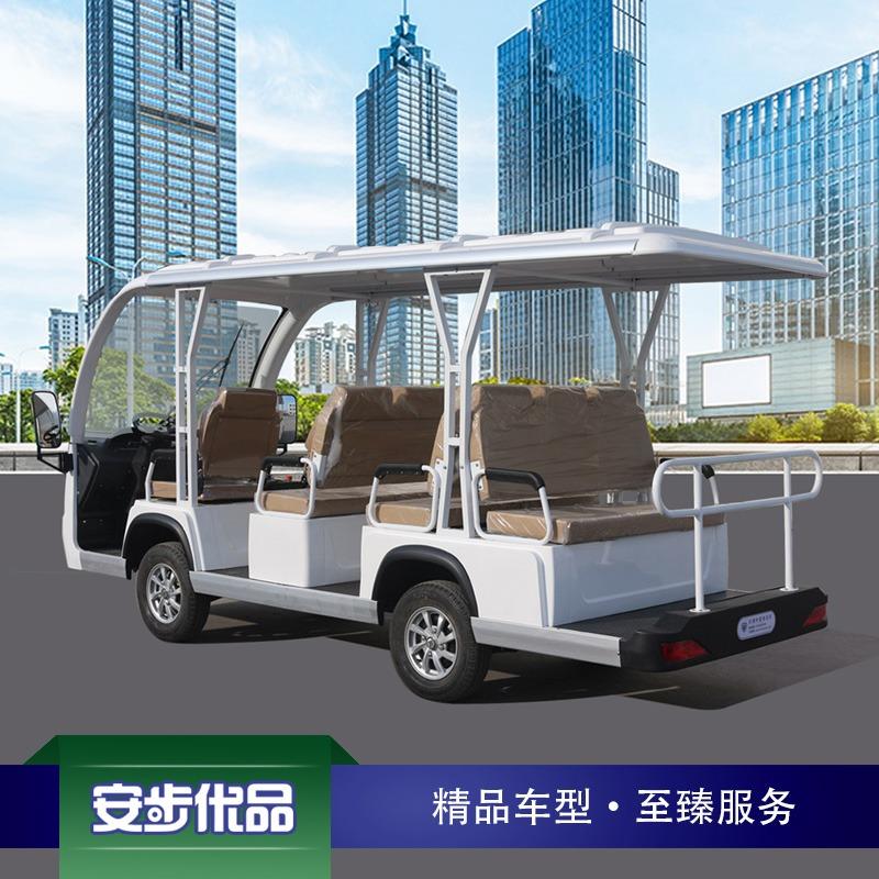 新款11座注塑车身电动观光车