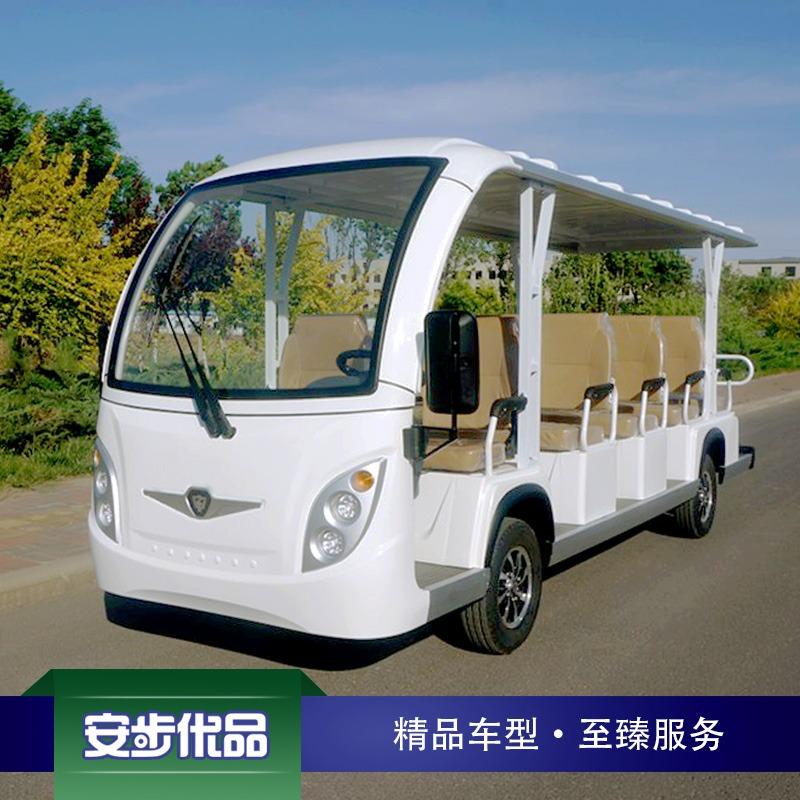 新款14座注塑车身电动观光车
