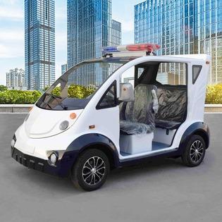 铁壳电动巡逻车成为电动执法车的潮流方向