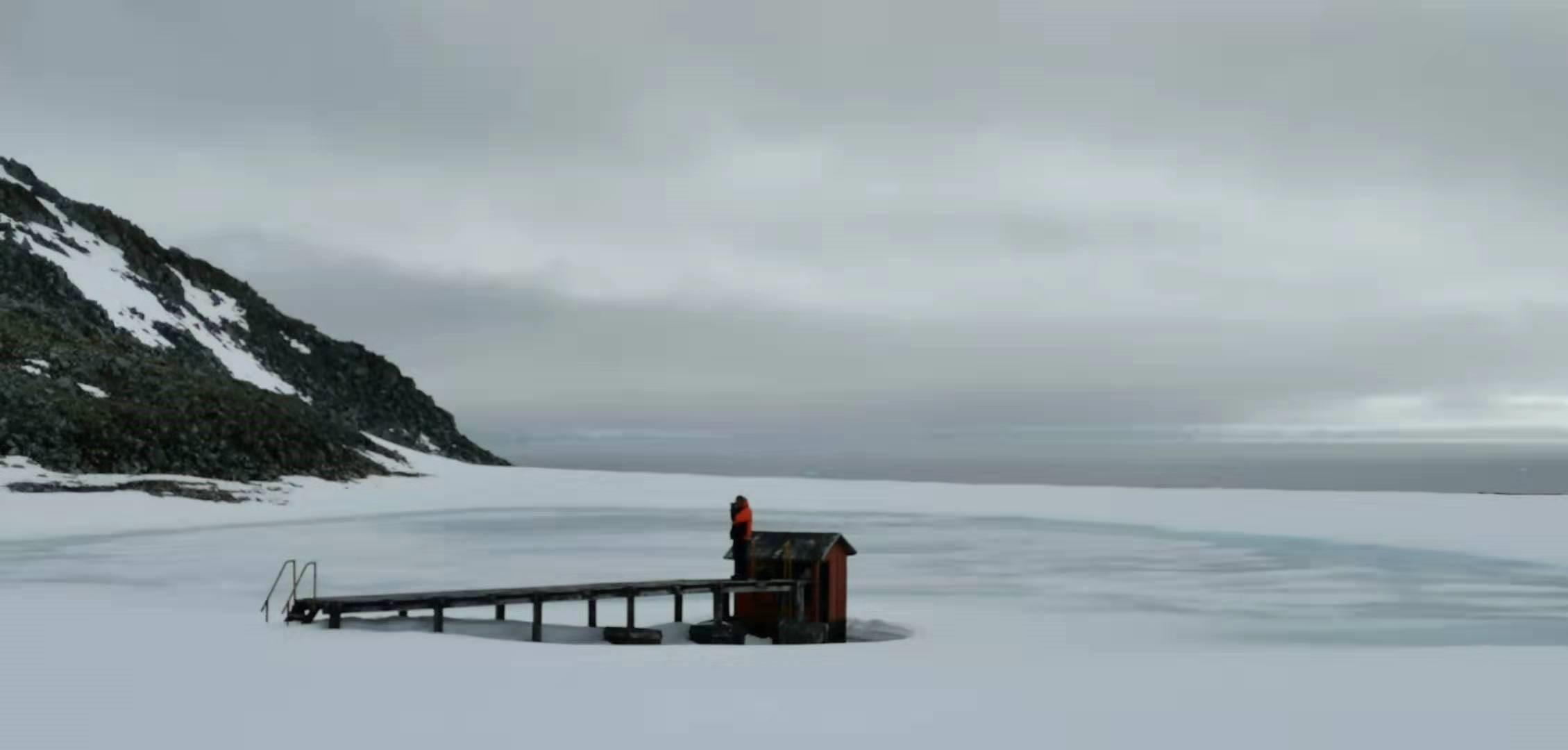 在南极遇见勇敢的自己