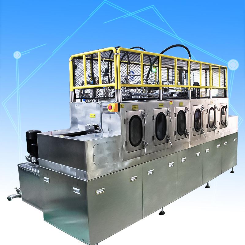 发动机转子全自动喷淋清洗机
