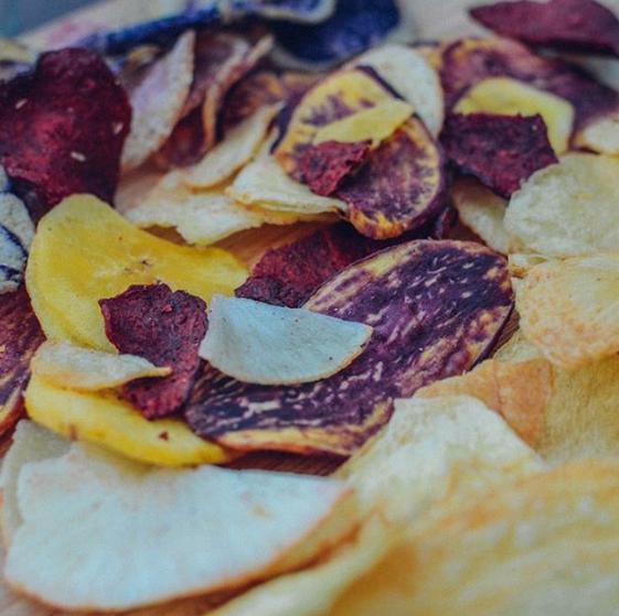 kiwa基瓦厄瓜多尔进口混合紫薯片