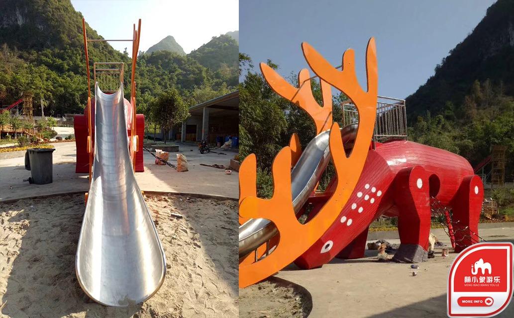 【重庆不锈钢滑梯厂家】一般游乐设施和水上设施该怎么选