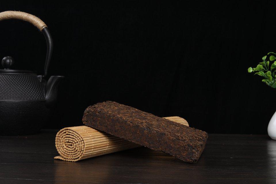 古树熟茶砖