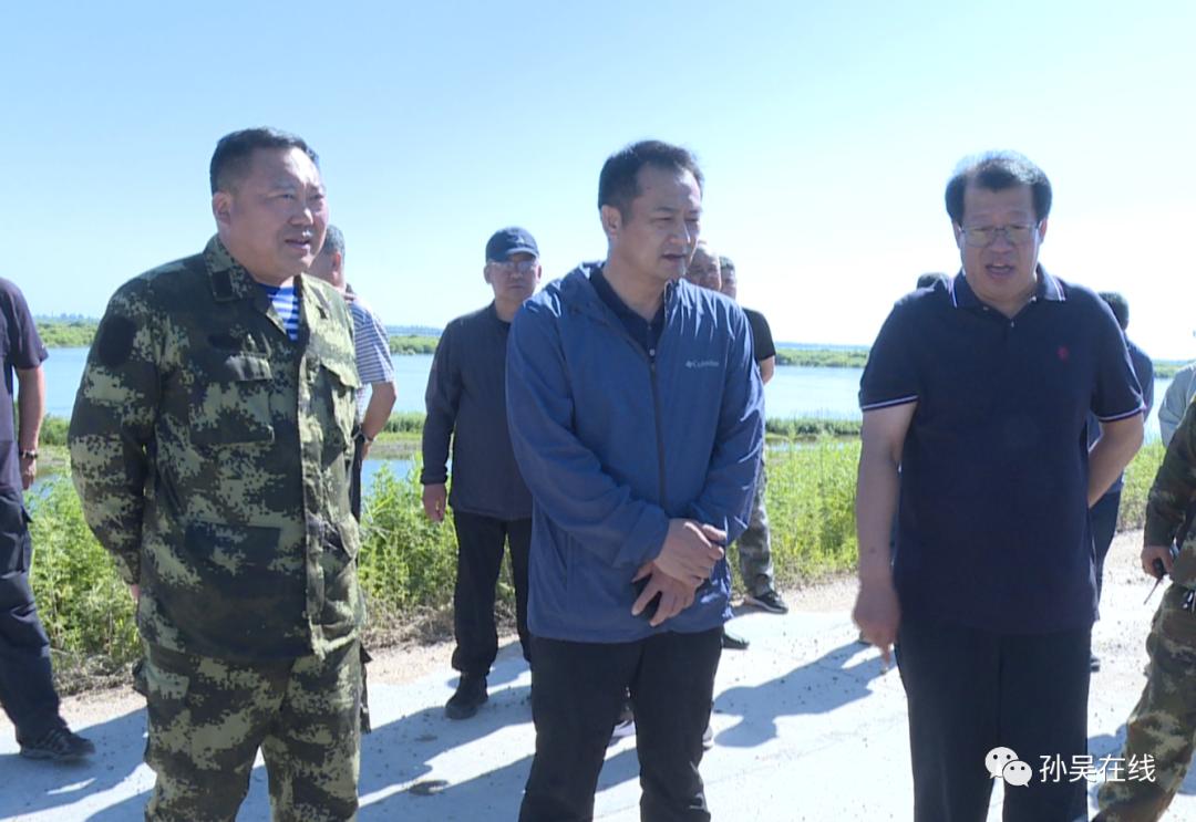李继海督导检查防汛备汛工作提前应对2021年黑龙江第五次洪峰