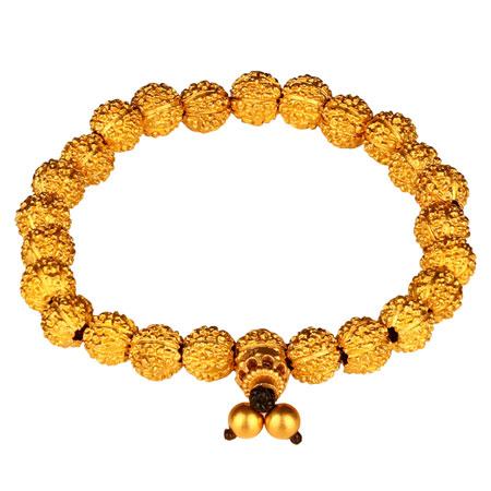 古法黄金手链