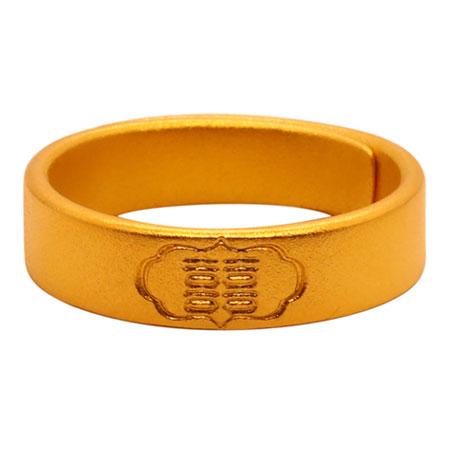 古法黄金戒子