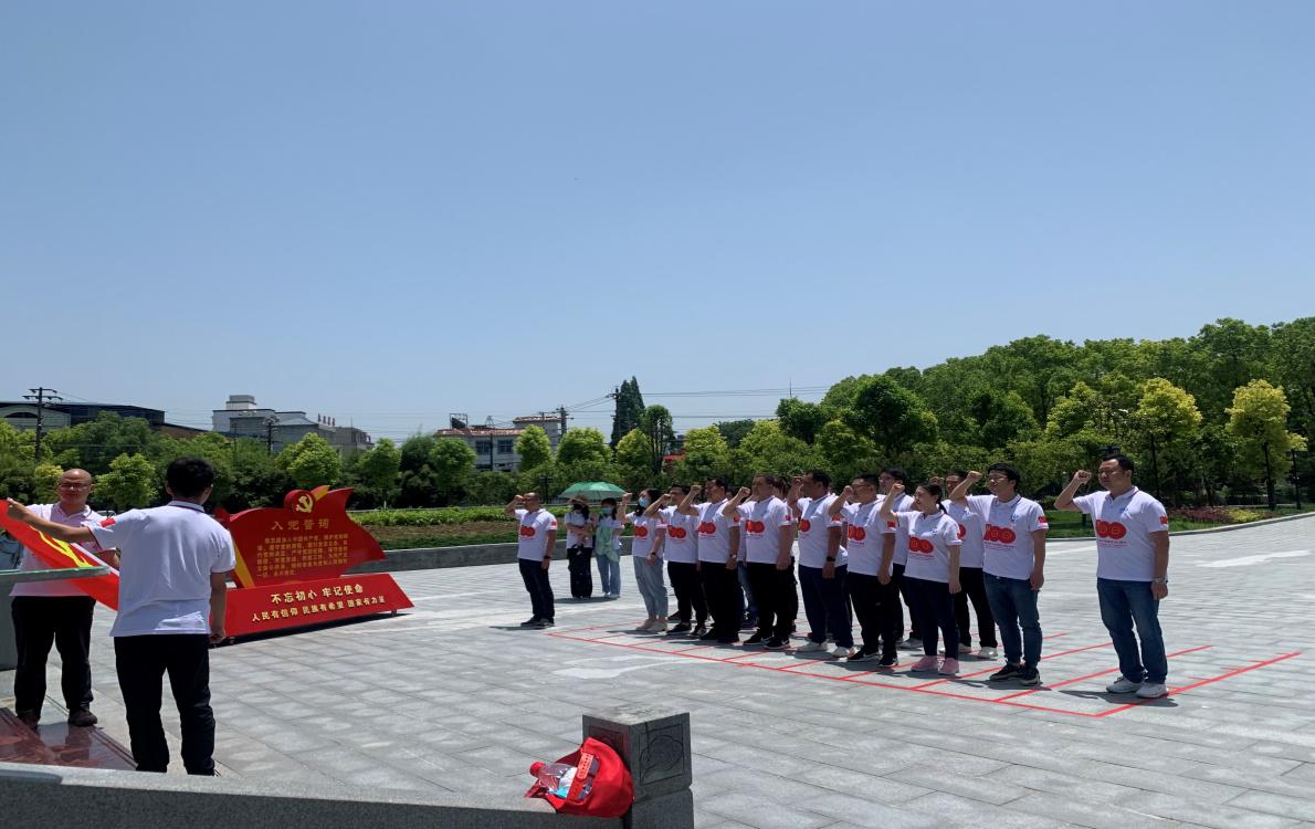 一八二队组织党员干部赴洪湖瞿家湾湘鄂...