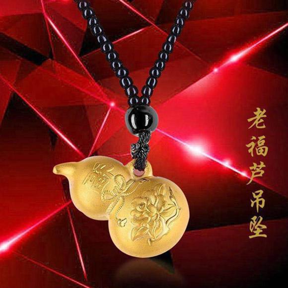 老福黄金 黄金吊坠3