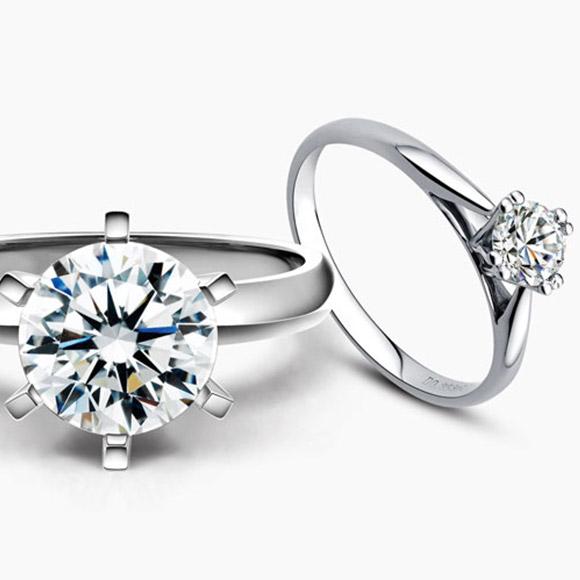 老福黄金 钻石戒指5