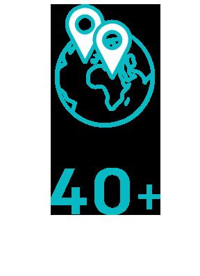 已销往全球40多个国家
