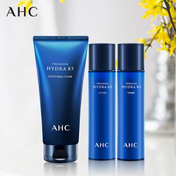 韩国AHC B5 保湿水120ml+保湿乳120ml