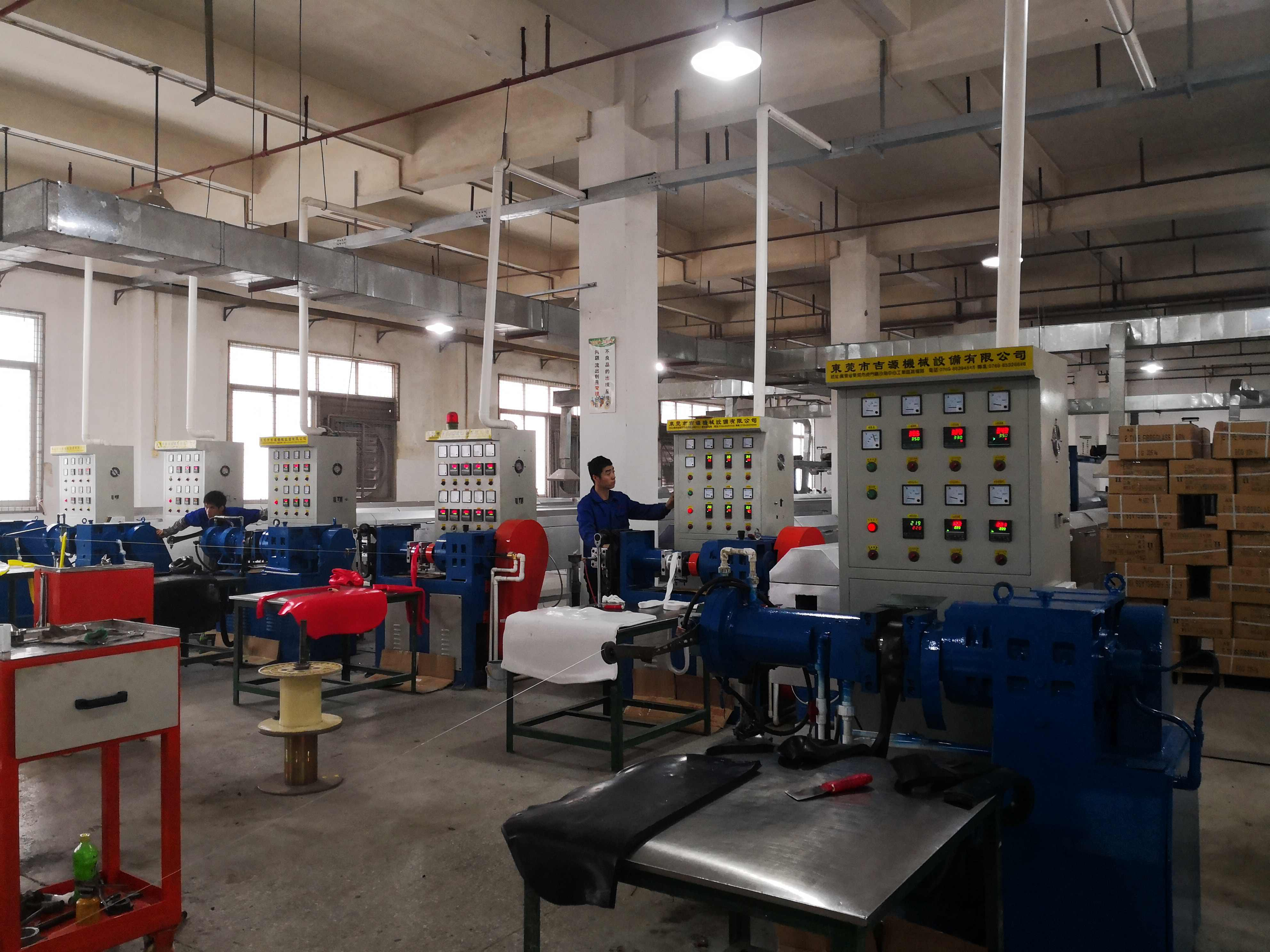 EMTE材料生产的传感器引线研发成功并批量生产。