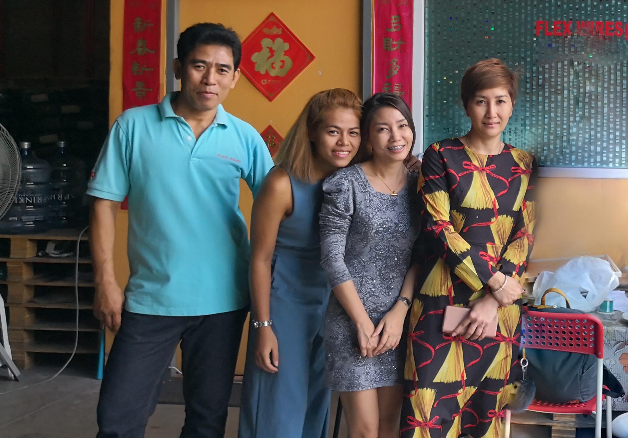 泰国公司成立。
