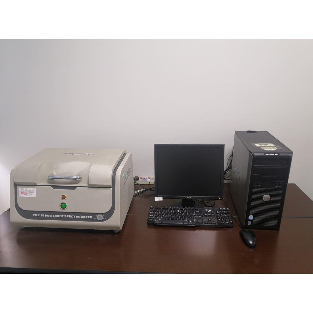 适用于所有产品、零件的有 害物质的检测。对产生的X 射线荧光能量进行解析,检 测构成试样的元素和含量的 装置。