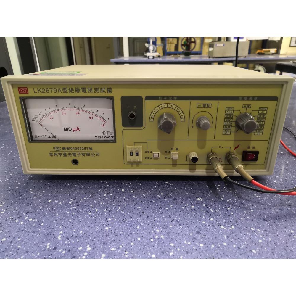 绝缘电阻测试仪是一种测试 电子组件、整机、介质材料 等绝缘性能的测量仪器。它 具有测试速度快、稳定性好、 操作方便,并具有不良判别 的功能。