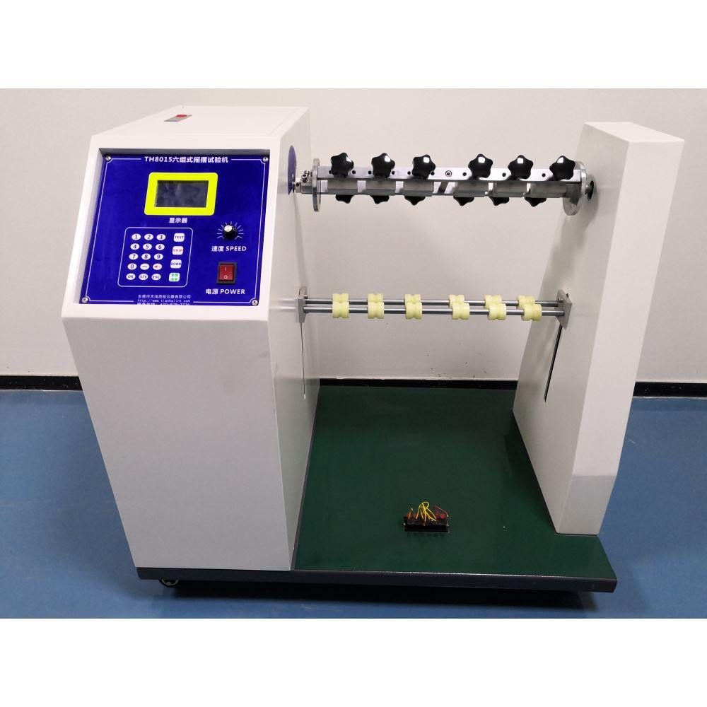 """本试验机符合UL817 等有关 标准""""软电线和电源软线通 用安全要求""""的规定。符合 IEC 等国际标准。适用于有 关生产厂家和质检部门对电 源线、DC 耳机线进行弯折 试验。"""