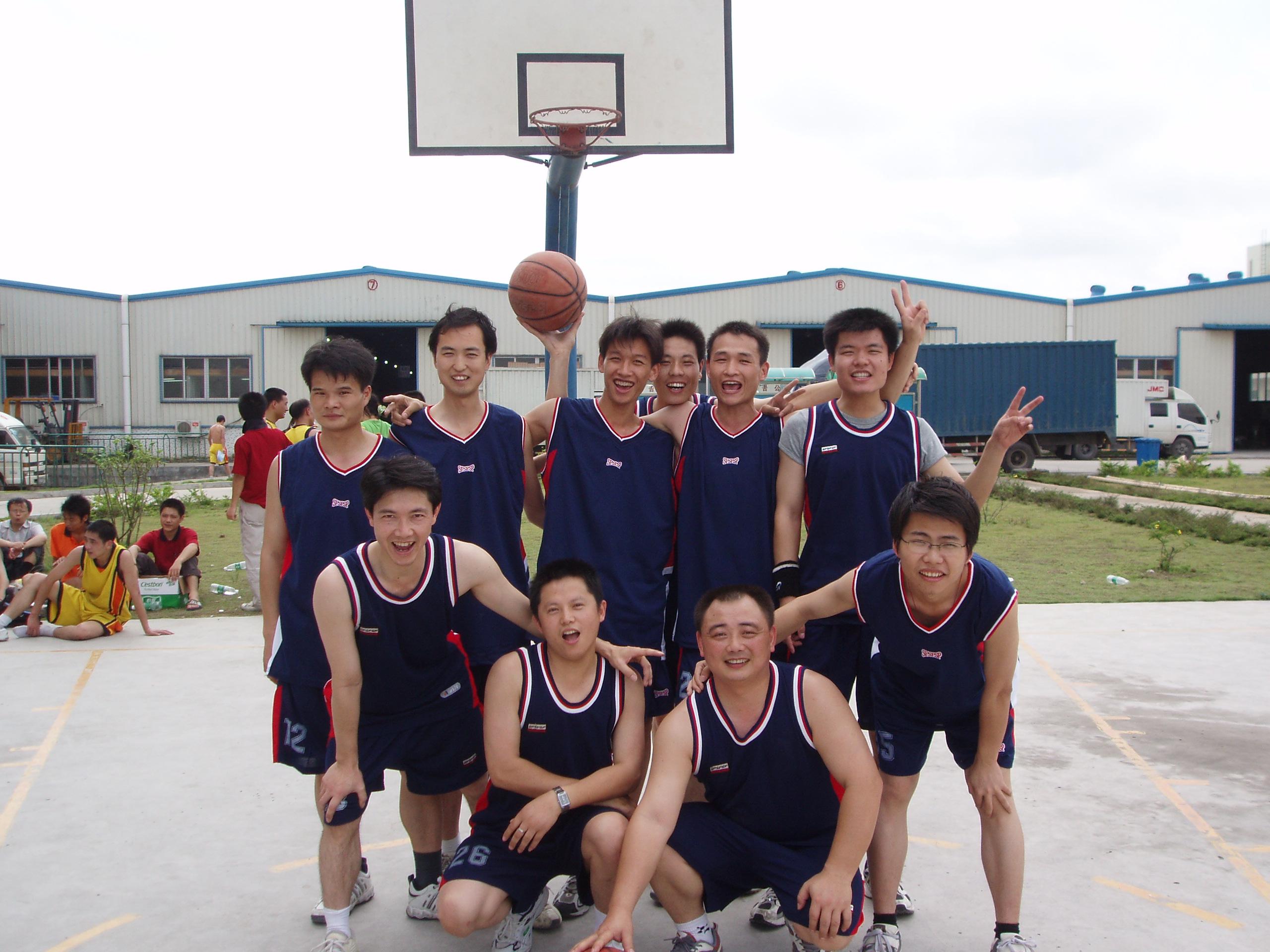 2004年公司團建-畢業墻