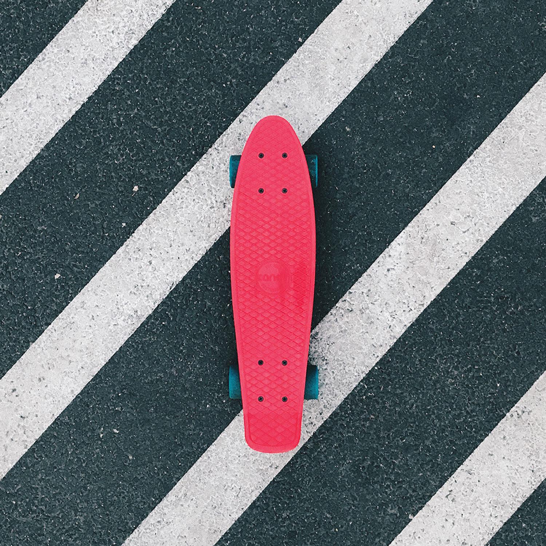 滑板初级课程