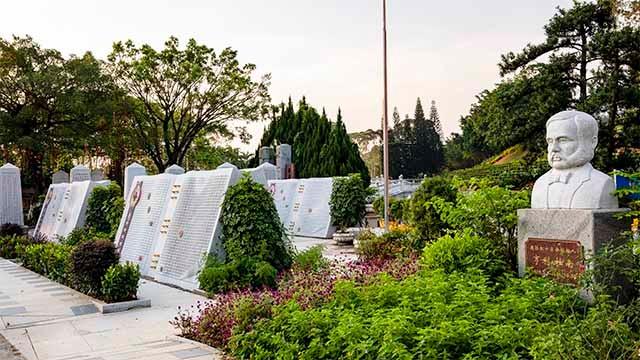 省红十字纪念园,亨利·杜南先生纪念塑像