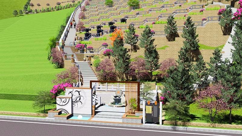 福苑精品墓区(已建设完成)