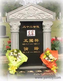 王国祥与伦锋夫妇墓志铭