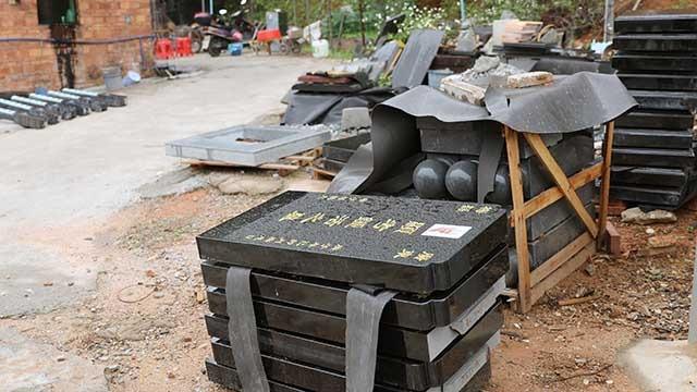 石材厂立碑、建坟等工作延后640