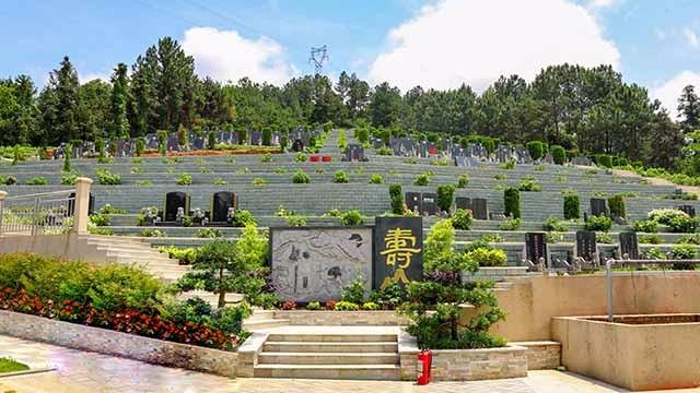 万寿园三,墓区视频,720全景