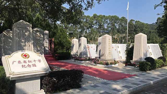 省红十字纪念园一区、二区场景