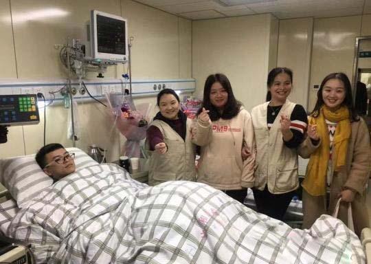 福建大学生捐献造血干细胞 为患儿送去生命希望
