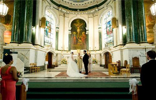 2教堂婚礼的浪漫和唯美