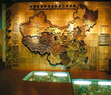 中国历代主要的窑口分布