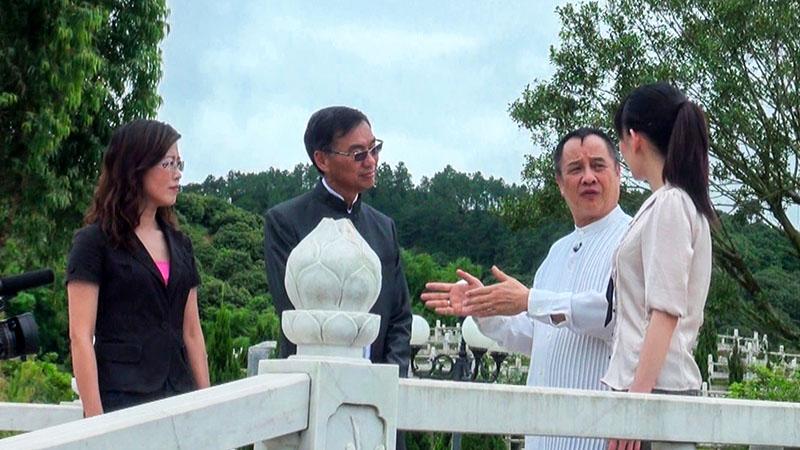 司徒法正、黄居士在万安桥参观指导800