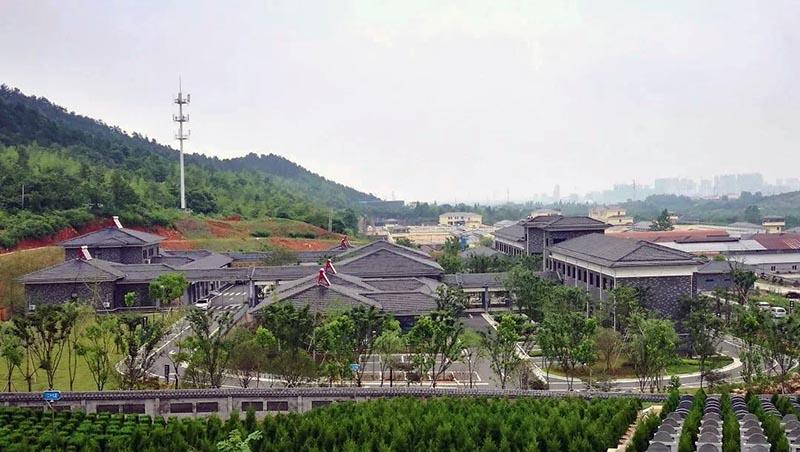▲长兴县公益性公墓