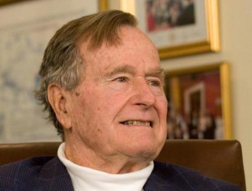 美国前总统乔治 H W 布什(老布什)